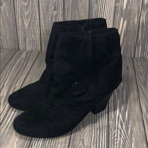 Covington | Black ankle Booties
